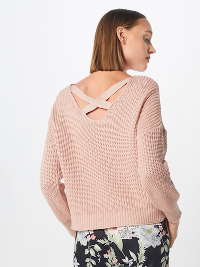 ABOUT YOU Pullover 'Liliana' in rosé: Rückansicht