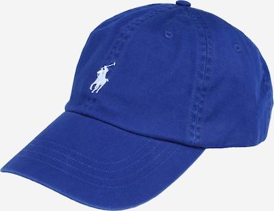 POLO RALPH LAUREN Pet 'CLS SPRT CAP-HAT' in de kleur Royal blue/koningsblauw / Wit, Productweergave