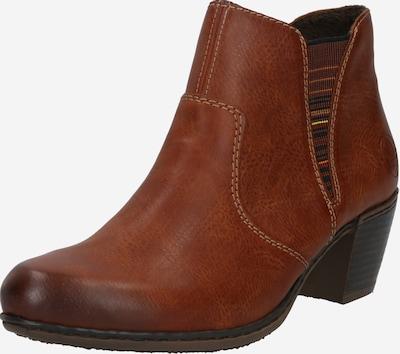 RIEKER Chelsea Boots en caramel / baie / mélange de couleurs / orange / rouge pastel, Vue avec produit