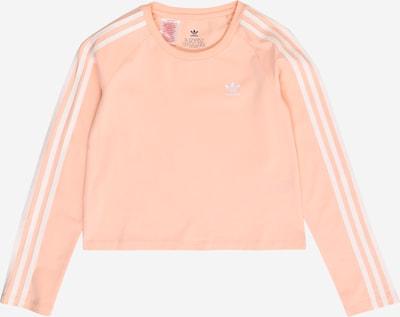 ADIDAS ORIGINALS Shirt in koralle / weiß, Produktansicht