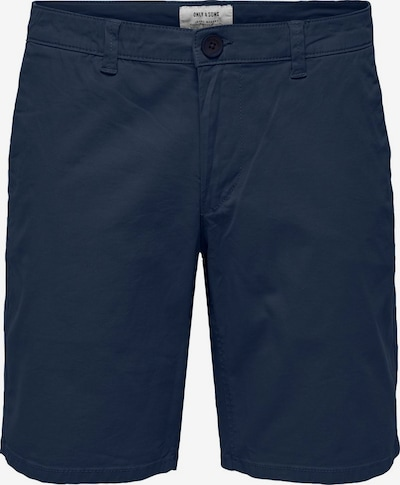 Only & Sons Shorts in marine, Produktansicht