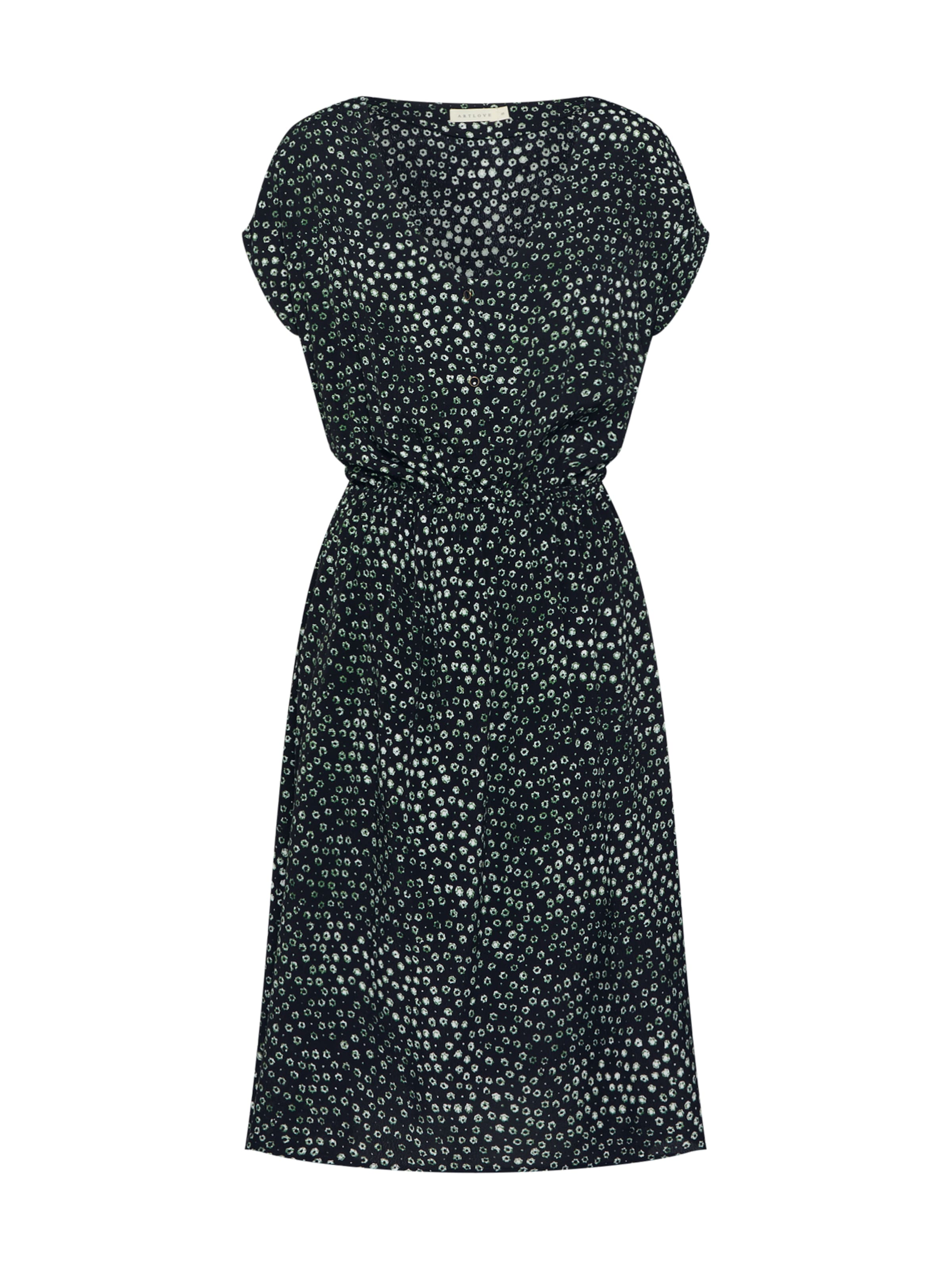 Dunkelgrün Artlove In '52122' Kleid Paris srBhQxCtd