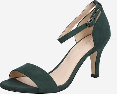 Bianco Sandalette in smaragd, Produktansicht