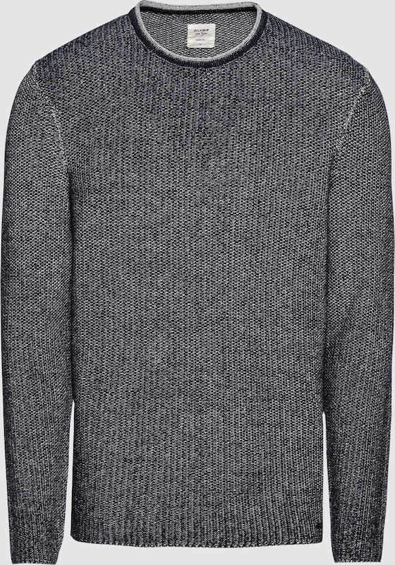 OLYMP Pullover in marine  Große Preissenkung