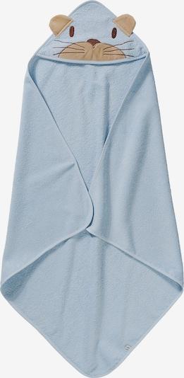 Pippi Kapuzenhandtuch in hellblau, Produktansicht
