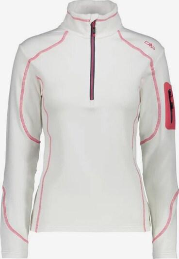 CMP Sweatshirt in dunkelpink / weiß, Produktansicht