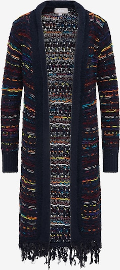 Usha Gebreide mantel in de kleur Kobaltblauw / Gemengde kleuren, Productweergave