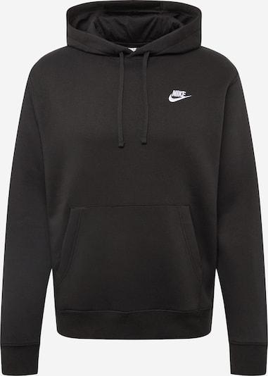 Nike Sportswear Sweatshirt 'Club' in schwarz, Produktansicht