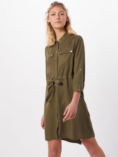 OBJECT Blusenkleid 'OBJJANA' in oliv, Modelansicht