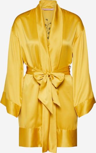 Hunkemöller Jutranja halja 'Kimono Satin Flower' | rumena barva, Prikaz izdelka