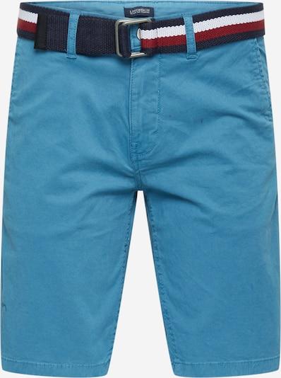 Pantaloni chino Lindbergh di colore blu fumo, Visualizzazione prodotti