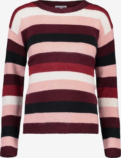 Noppies Pull-over ' Sascha ' en mélange de couleurs / rose / rouge rubis / noir / blanc, Vue avec produit