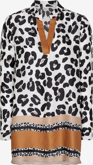 ETERNA Tunika in camel / honig / puder / schwarz / weiß, Produktansicht