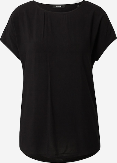 OPUS Shirt 'Skita' in de kleur Zwart, Productweergave