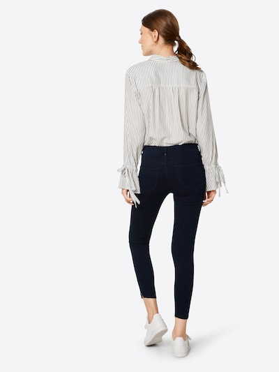 ONLY Jeans in blue denim: Rückansicht