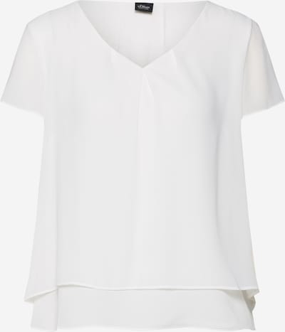 s.Oliver BLACK LABEL Blouse in nature white, Item view