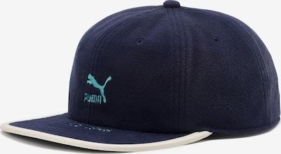 PUMA Archive Flat Brim Cap in navy / weiß, Produktansicht