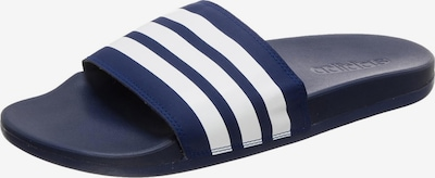 ADIDAS PERFORMANCE Badeschuh in navy / weiß, Produktansicht