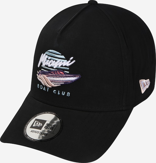 NEW ERA Cap 'NEW ERA BEACH TRUCKER' in hellblau / schwarz, Produktansicht