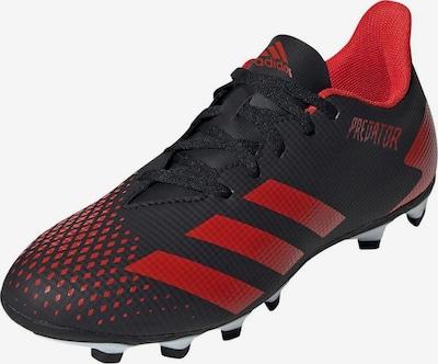 Ghete de fotbal 'Predator 20.4 FxG' ADIDAS PERFORMANCE pe roșu / negru, Vizualizare produs