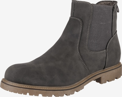 SUPREMO Chelsea Boots in dunkelgrau: Frontalansicht