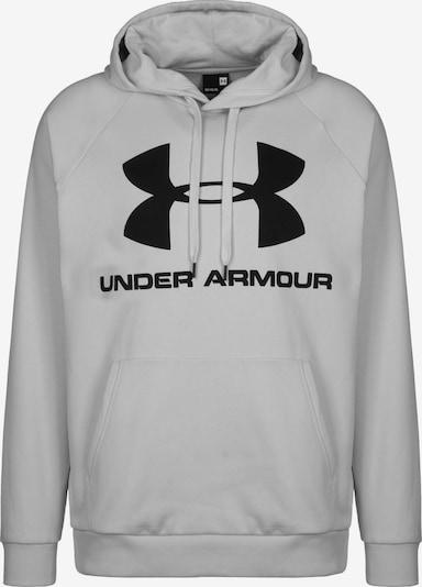 UNDER ARMOUR Sportsweatshirt 'Rival' in grau: Frontalansicht
