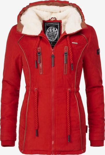 MARIKOO Winterjacke 'Maiglöckchen' in rot, Produktansicht