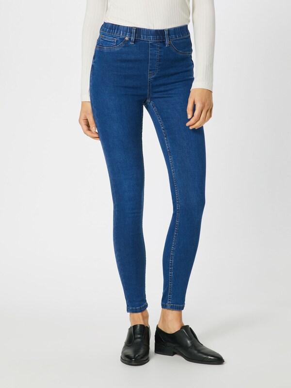 Pantalon Bleu Look Denim New En OlPXkiuTwZ