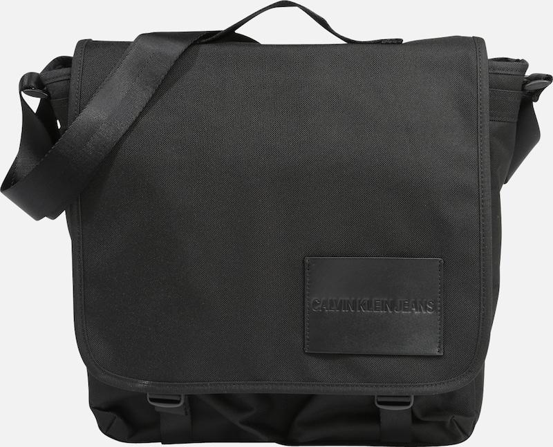 Calvin À Lp Essential Jeans 'sport Noir Bandoulière Messenger' Klein En Sac sxBtQdrCoh