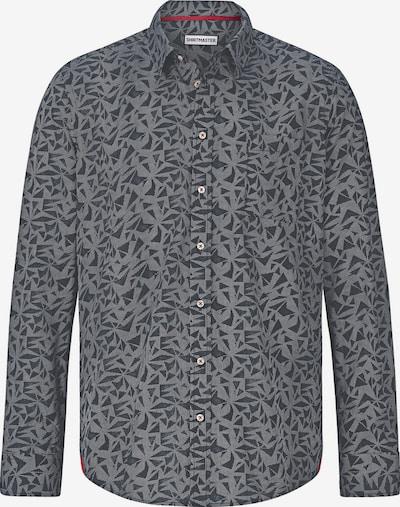 Shirtmaster Chemise 'Blacktea' en gris foncé, Vue avec produit