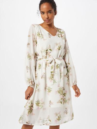 ZABAIONE Kleid 'Sonja' in mischfarben / weiß, Modelansicht