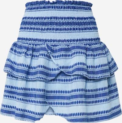 Neo Noir Rok 'Carin Stitch Skirt' in de kleur Lichtblauw, Productweergave