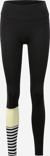Hey Honey Leggings in gelb / schwarz, Produktansicht