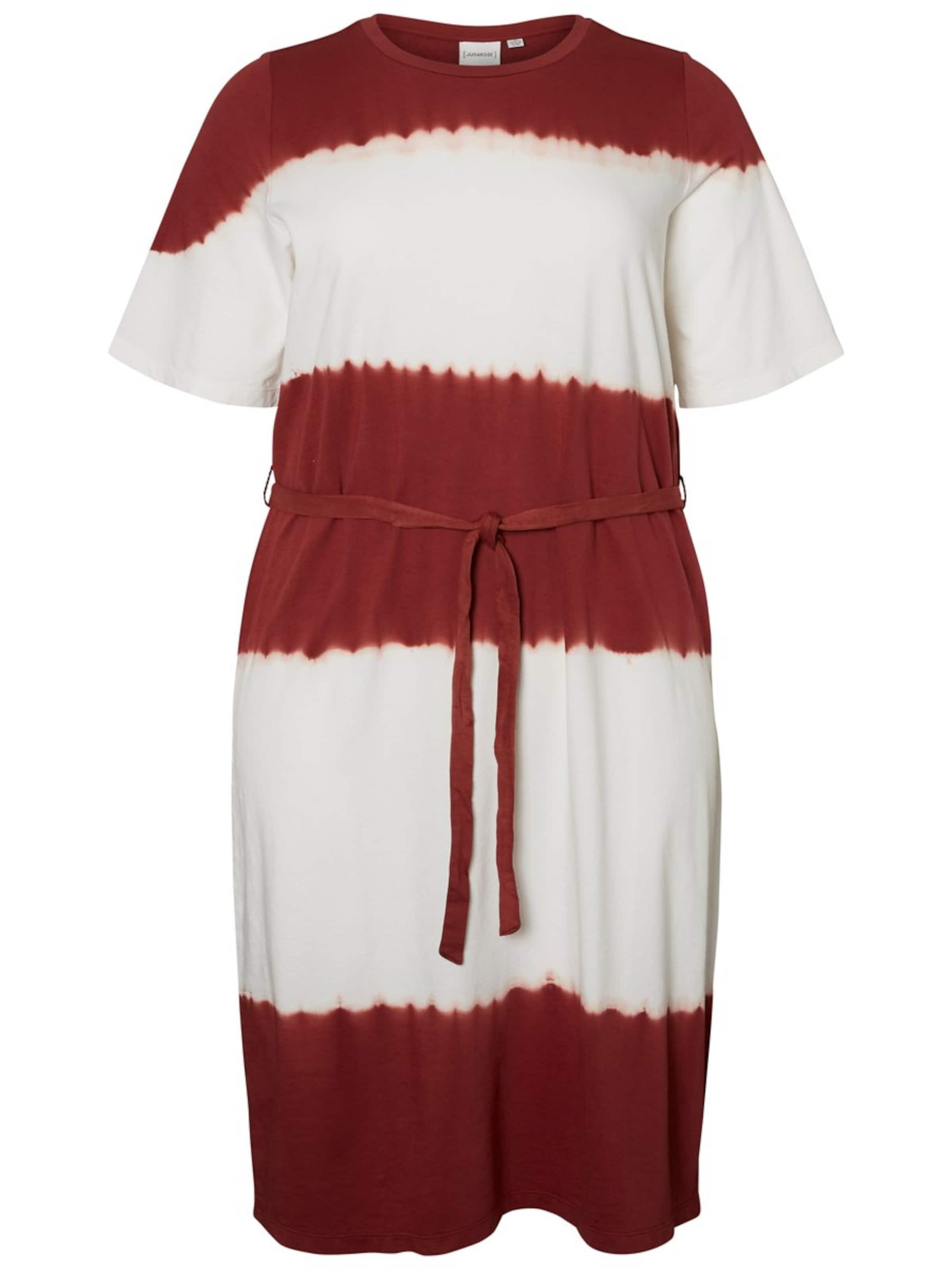 RostbraunWeiß Junarose Kleid In Junarose Kleid sCBrhdQotx