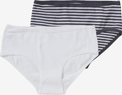 SCHIESSER Onderbroek in de kleur Antraciet / Wit, Productweergave