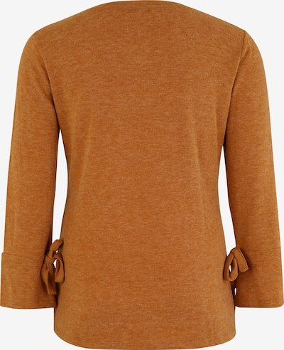 ABOUT YOU Curvy Pullover 'Lavina' in cognac: Rückansicht