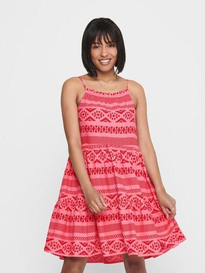 ONLY Kleid in pink / pitaya, Modelansicht