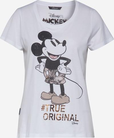 PRINCESS GOES HOLLYWOOD T-shirt 'Disney Mickey' en noir / blanc, Vue avec produit