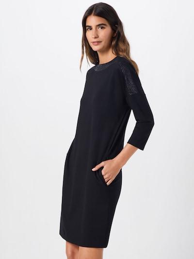OPUS Kleid 'Willis glitter' in schwarz, Modelansicht