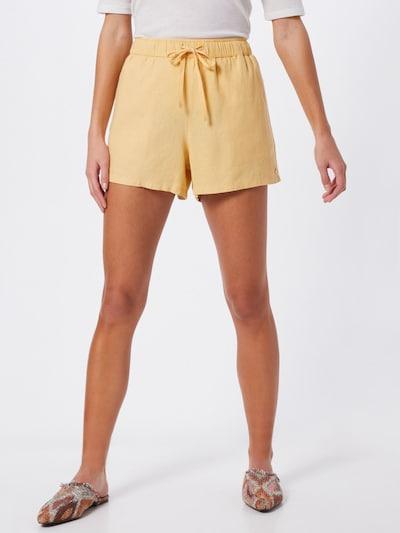 ROXY Shorts 'LOVE SQUARE' in gelb, Modelansicht