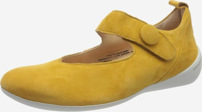 THINK! Ballet Flats with Strap in Mustard, Item view
