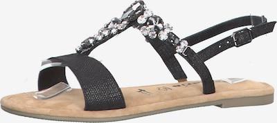 TAMARIS Sandalen in schwarz, Produktansicht