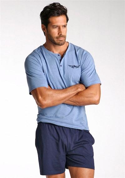 ARIZONA Krátke pyžamo 'Arizona' - modrá, Model/-ka