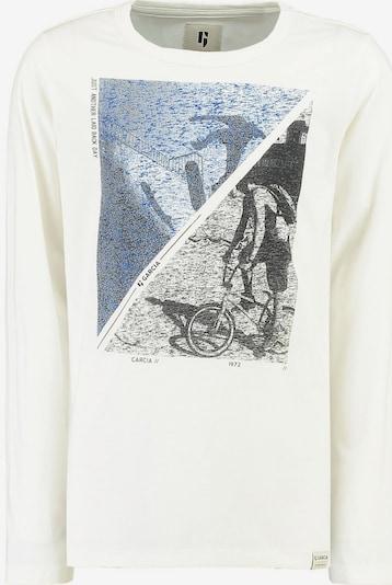 GARCIA Shirt in blau / dunkelblau / weiß: Frontalansicht