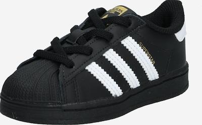 ADIDAS ORIGINALS Sneaker 'SUPERSTAR EL I' in schwarz / weiß, Produktansicht