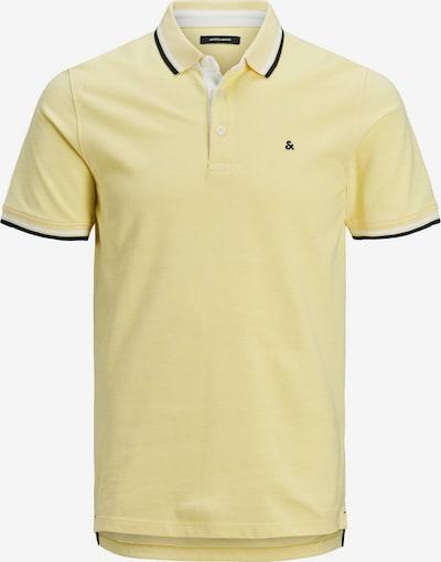 JACK & JONES Koszulka w kolorze jasnożółty / czarny / nakrapiany białym, Podgląd produktu