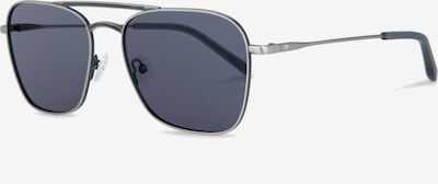 Kerbholz Sonnenbrille 'Bruno' in dunkelgrau / silber, Produktansicht