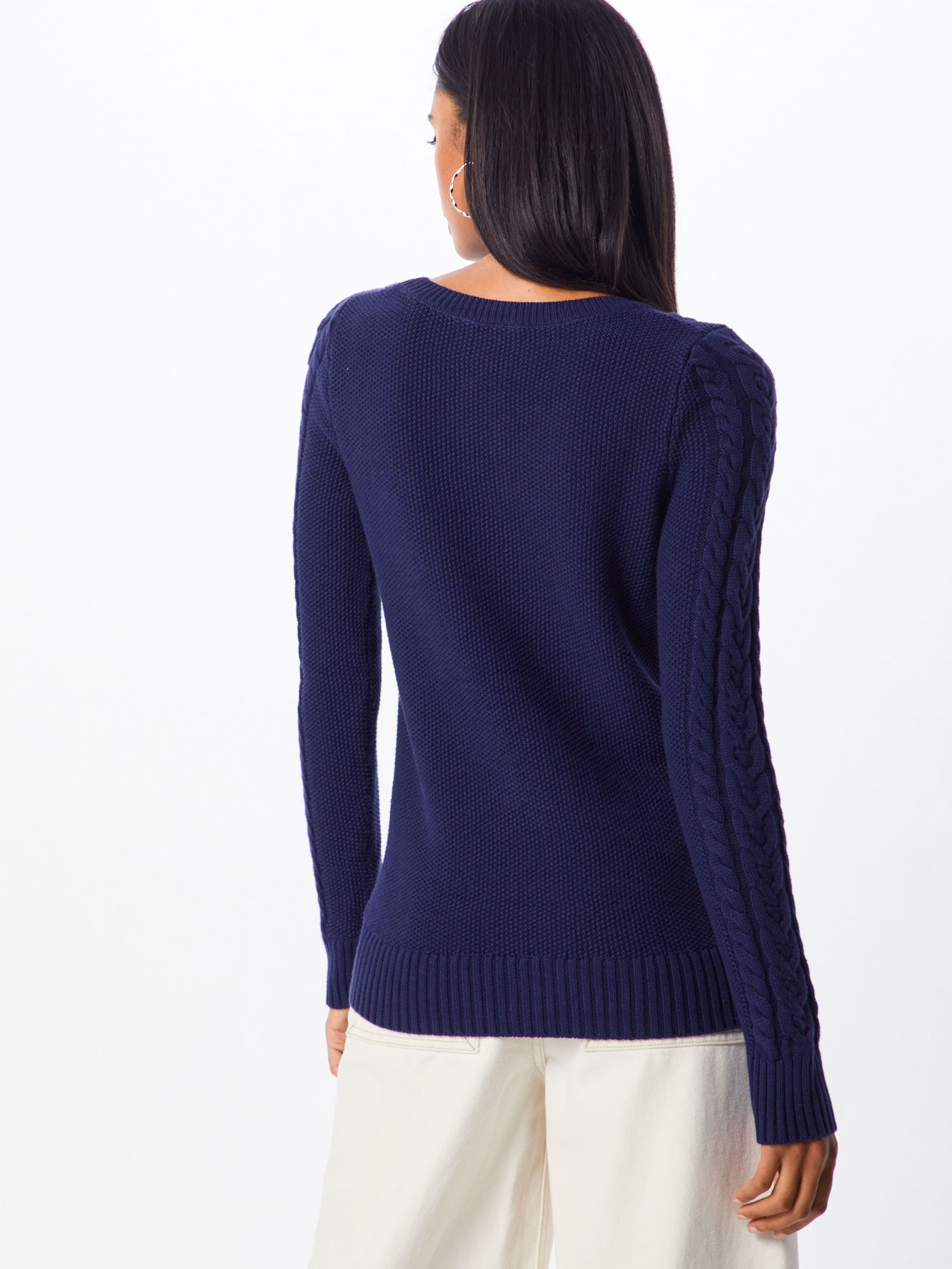 Bleu Gap Pull over Oc En Crew' Marine Cable 'tb xBeCord