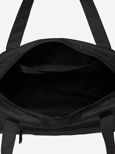 NIKE Sporttasche 'Gym Club' in schwarz / weiß: Draufsicht
