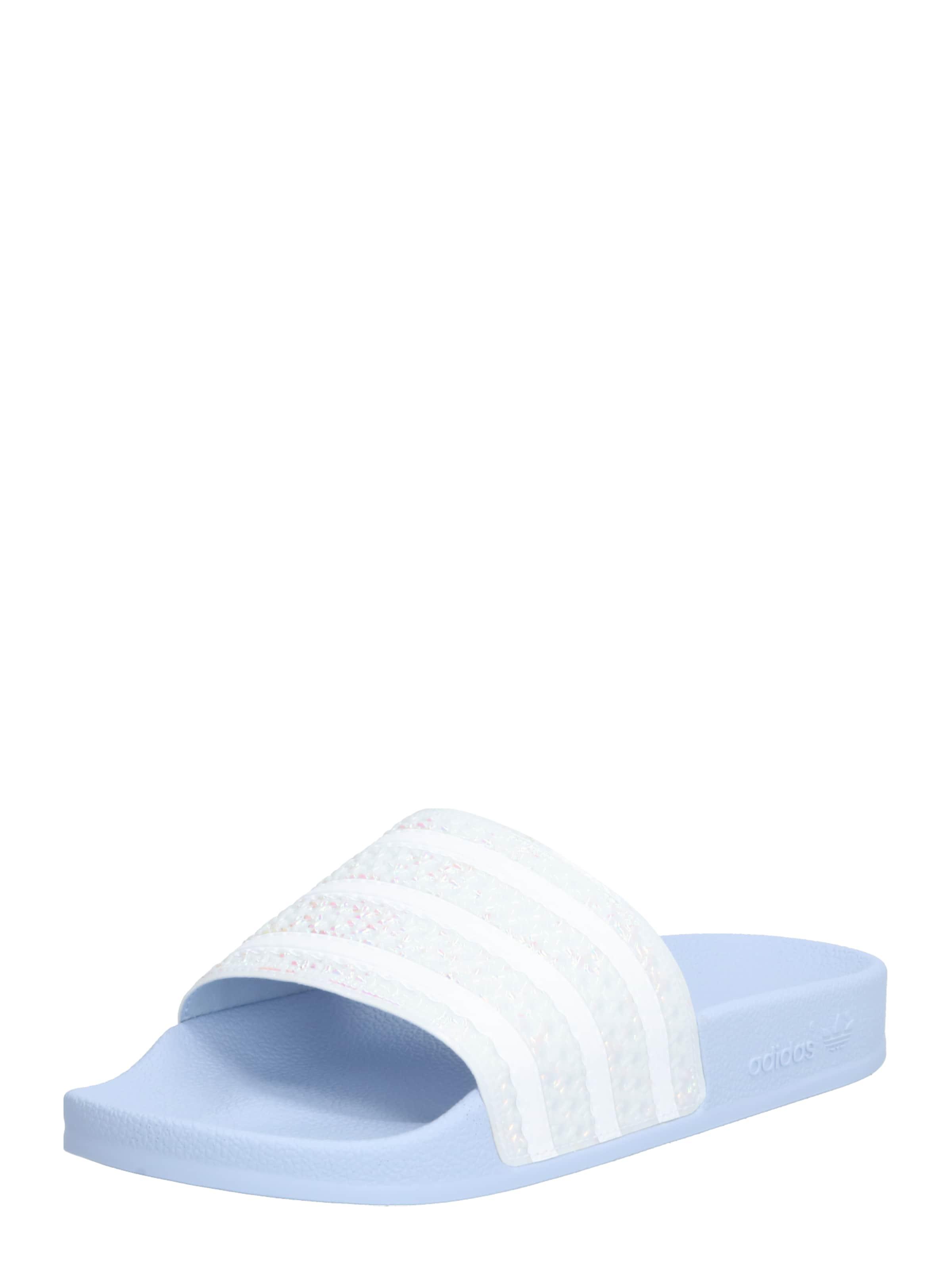 Originals SchwarzWeiß Badesandale Adidas 'adilette' In Rj345AL